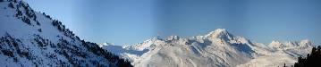 Uitzicht op de Mt.Blanc (klikken voor groot formaat)