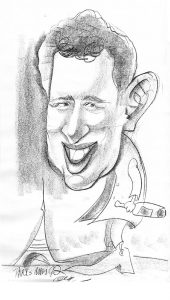 Karikatuur Johan