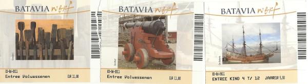 BataviaWerfToegangsKaarten