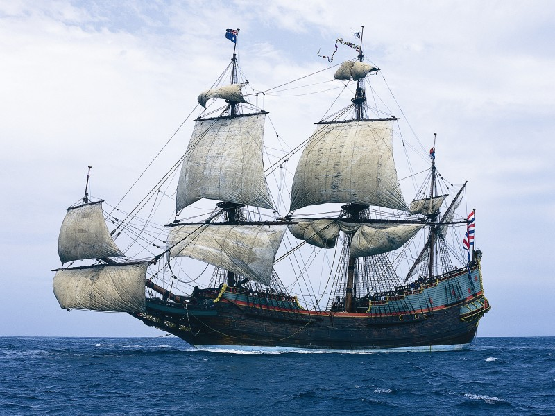 Batavia op volle zee