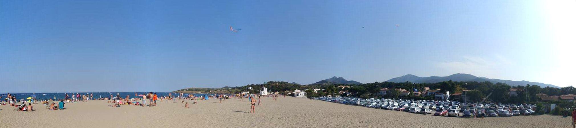Strand bij Argelès-sur-Mer